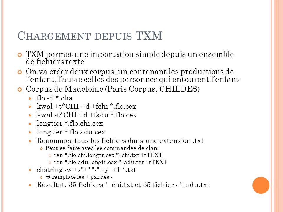 I NSTALLATION DE TXM TXM sinstalle de façon simple et automatique.