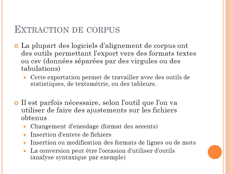 E XPORTATIONS