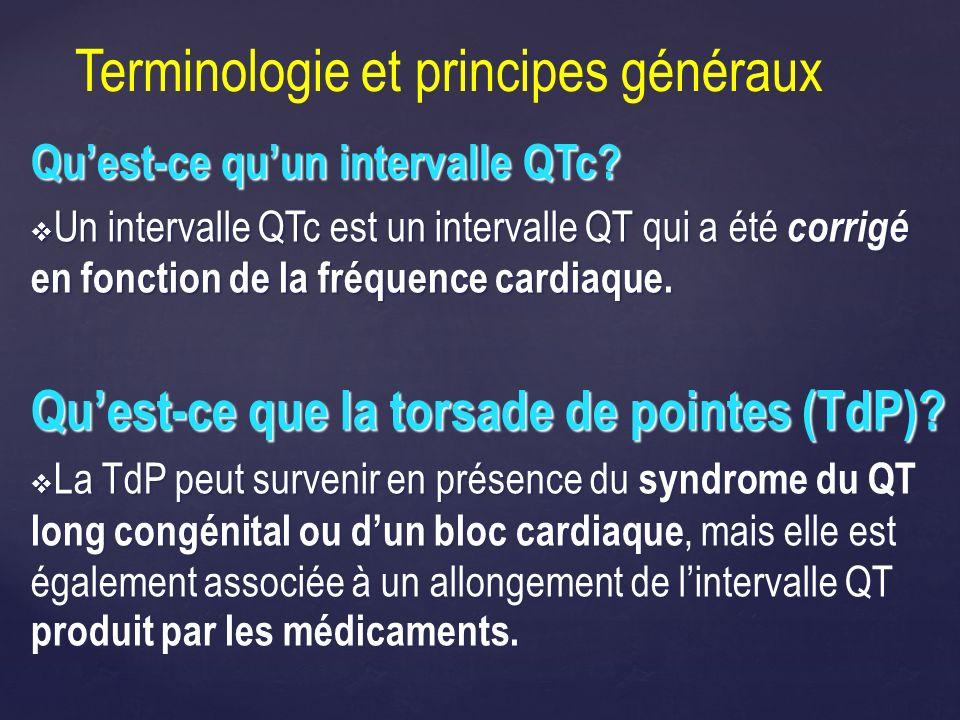 Quest-ce quun intervalle QTc? Un intervalle QTc est un intervalle QT qui a été corrigé en fonction de la fréquence cardiaque. Un intervalle QTc est un