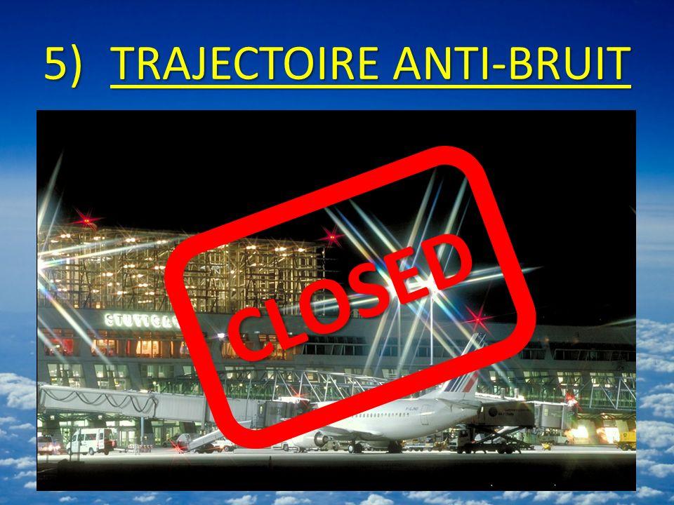 5)TRAJECTOIRE ANTI-BRUIT CLOSED