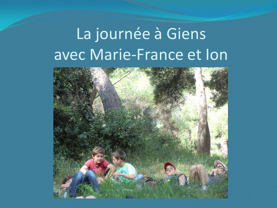 La journée à Giens avec Marie-France et Ion