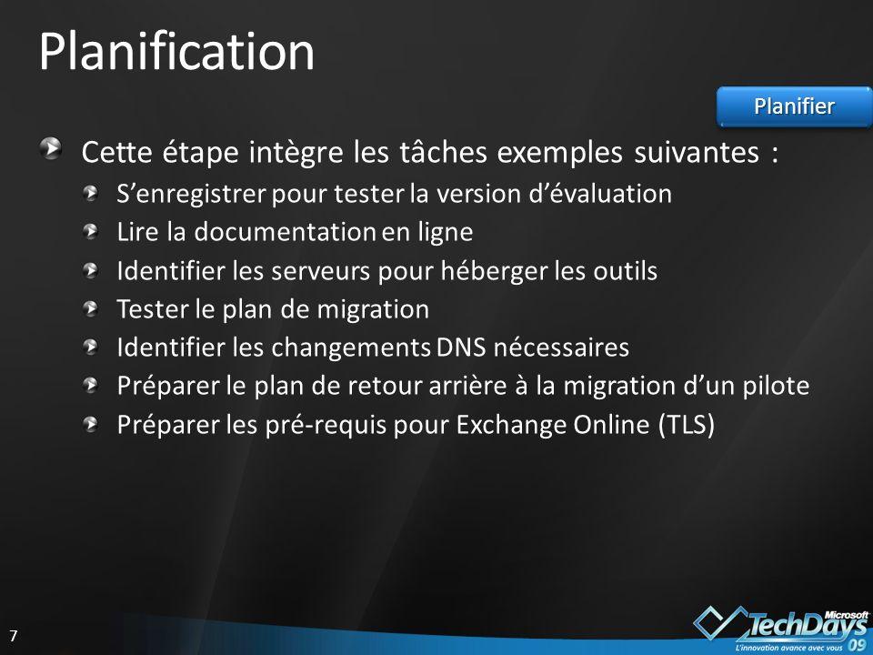 38 GroupWise Migrator for Exchange Supporte également les migrations de Novell Groupwise vers Microsoft Exchange Online (Standard) avec les mêmes fonctionnalités