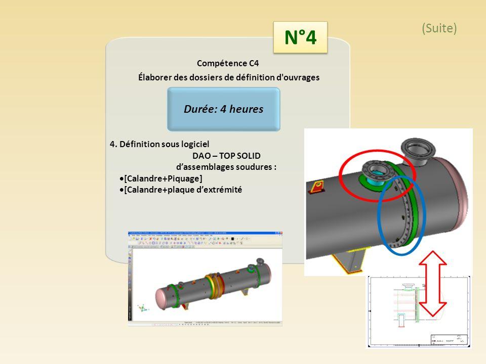 Travail Préliminaire: Documents fournis: Les spécifications de léchangeur + Plan échangeur Analyse du document initial Document simplifié à compléter Catégorie de construction A Matière : X2CrNiMo 17-12-2 (NFE-10222) Pression de calcul: 23.1 bars/vide Matière : Z2CND17-12 Pression intérieure Calandre = 2.31 Mpa Pression extérieure Calandre = 0.1 Mpa Température de calcul =155°C Epaisseur de corrosion = 2mm Tolérance de fabrication = 0.3mm (fab)+0.1mm (roulage) = 0,4 mm