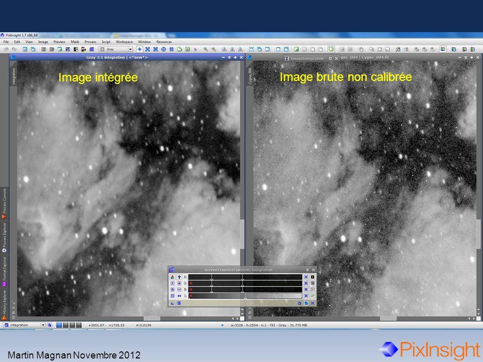 Martin Magnan Novembre 2012 Image intégrée Image brute non calibrée