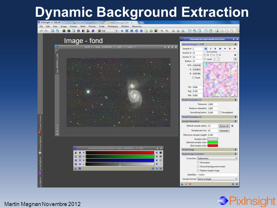 Dynamic Background Extraction Martin Magnan Novembre 2012 Image - fond