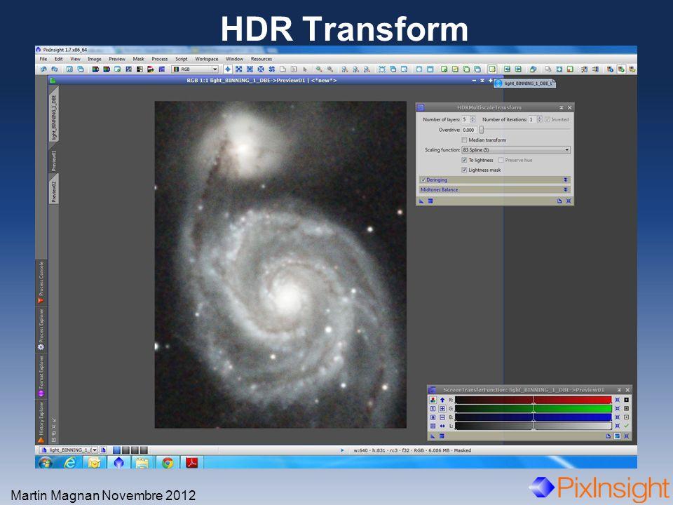 HDR Transform Martin Magnan Novembre 2012
