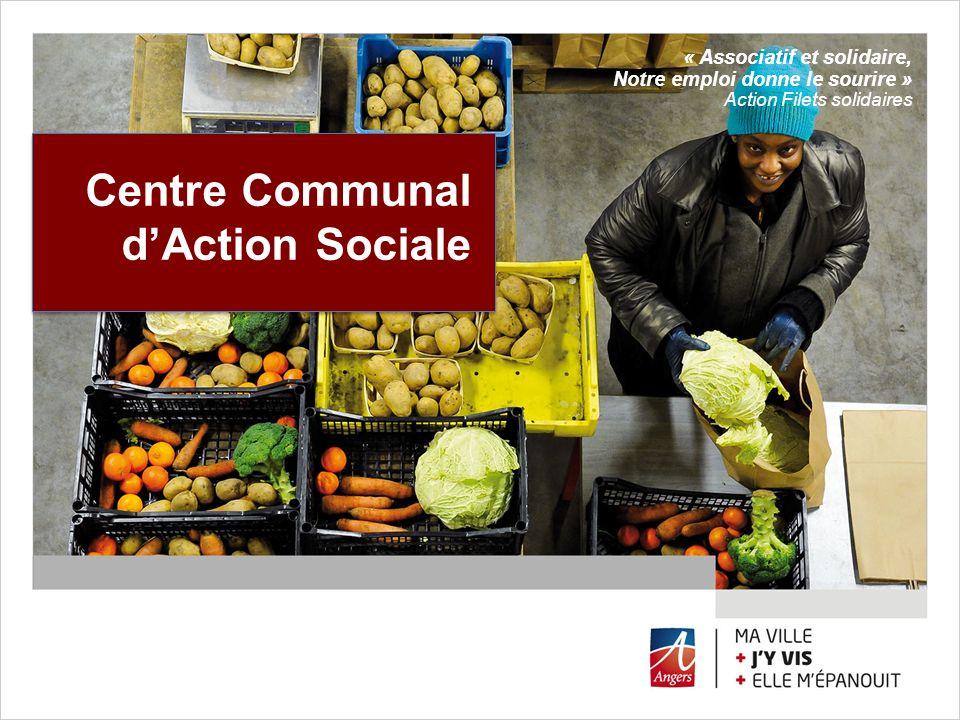 Centre Communal dAction Sociale « Associatif et solidaire, Notre emploi donne le sourire » Action Filets solidaires