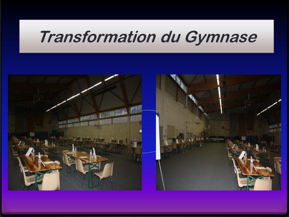Transformation du Gymnase