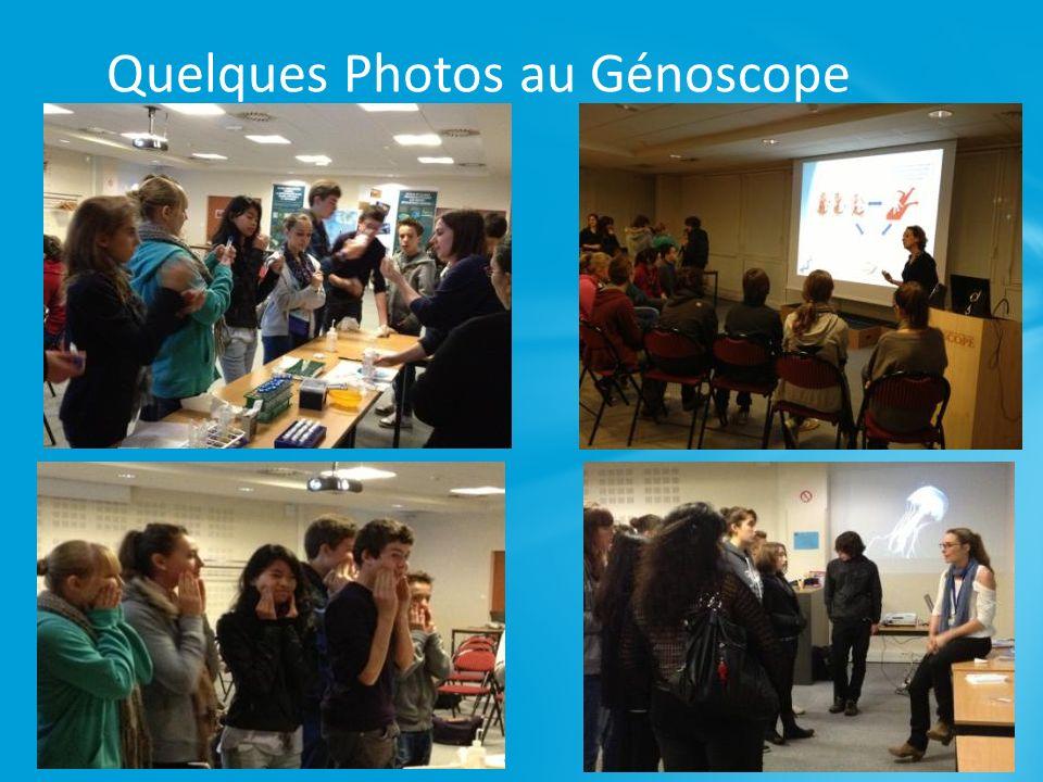 Quelques Photos au Génoscope