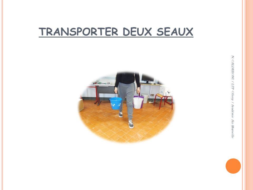 TRANSPORTER DEUX SEAUX N. CALDERONI / LTP Célony / Académie Aix-Marseille