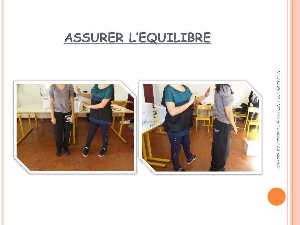 ASSURER LEQUILIBRE N. CALDERONI / LTP Célony / Académie Aix-Marseille
