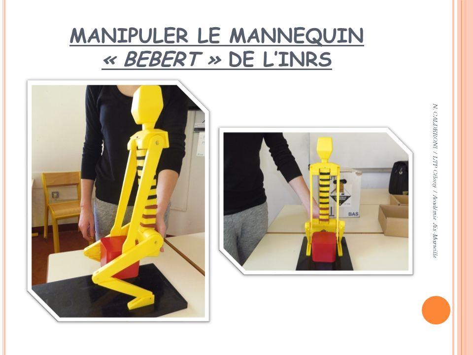MANIPULER LE MANNEQUIN « BEBERT » DE LINRS N. CALDERONI / LTP Célony / Académie Aix-Marseille