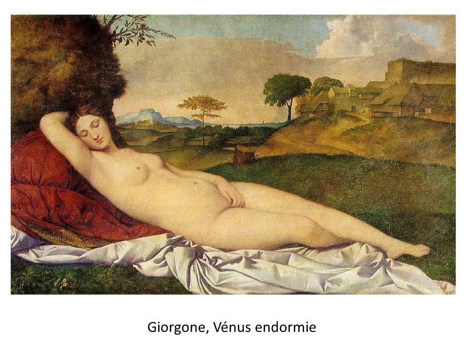 Giorgone, Vénus endormie