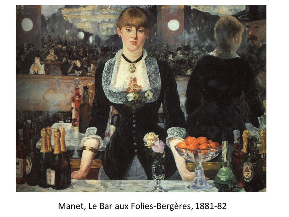 Manet, Le Bar aux Folies-Bergères, 1881-82