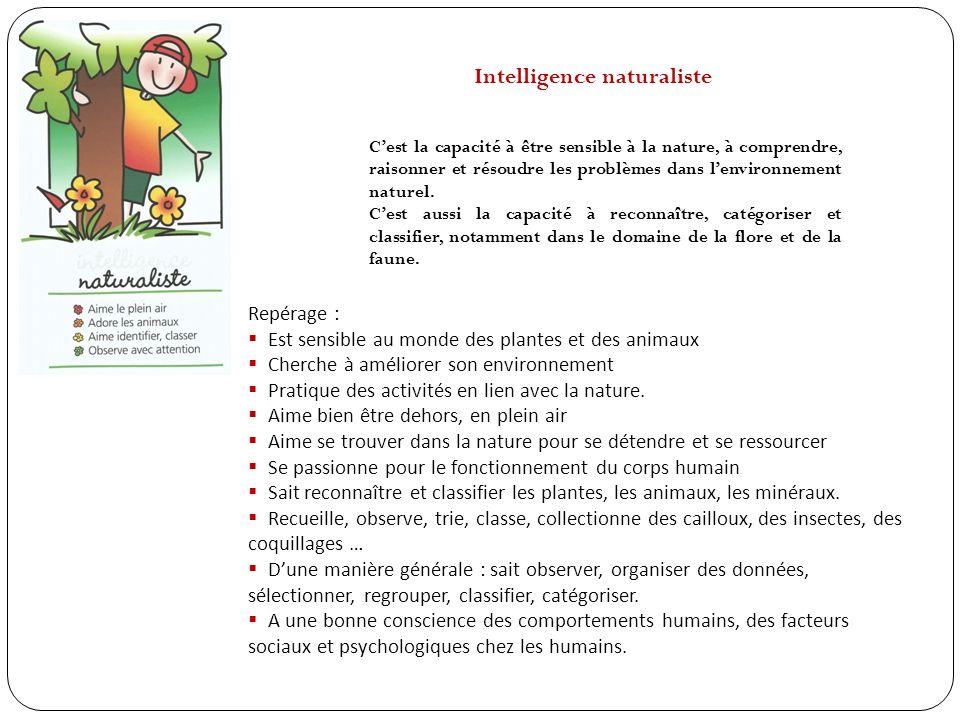 Intelligence interpersonnelle Cest la capacité à entrer en relation avec les autres, à être sensible aux autres et à les comprendre.