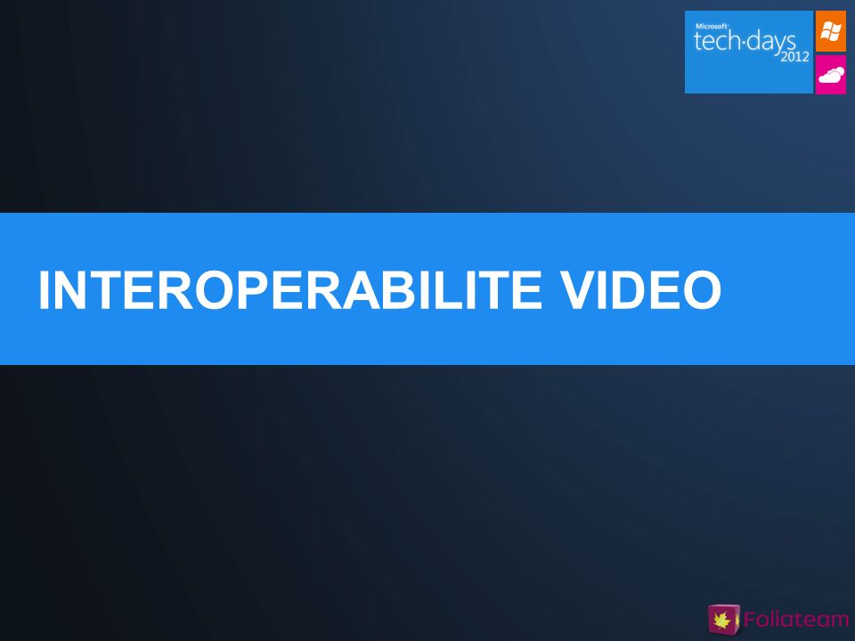 INTEROPERABILITE VIDEO