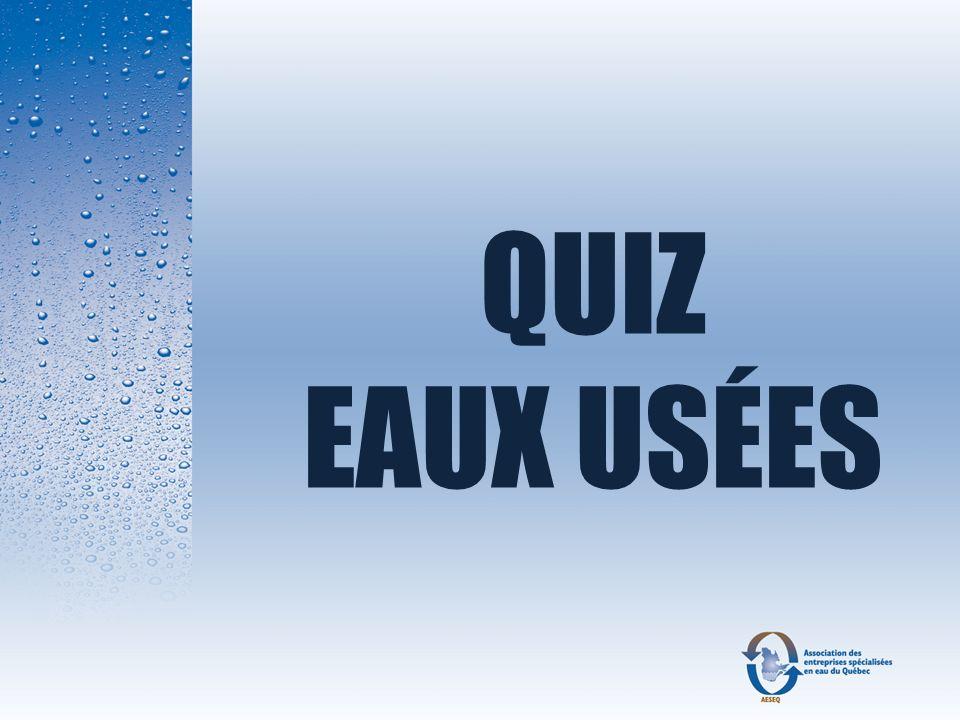 Question 14 Le concepteur dune installation septique a le choix de proposer un élément épurateur modifié ou un filtre à sable hors sol ?