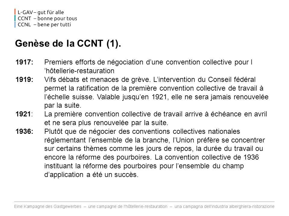 Soutien à la CCNT.