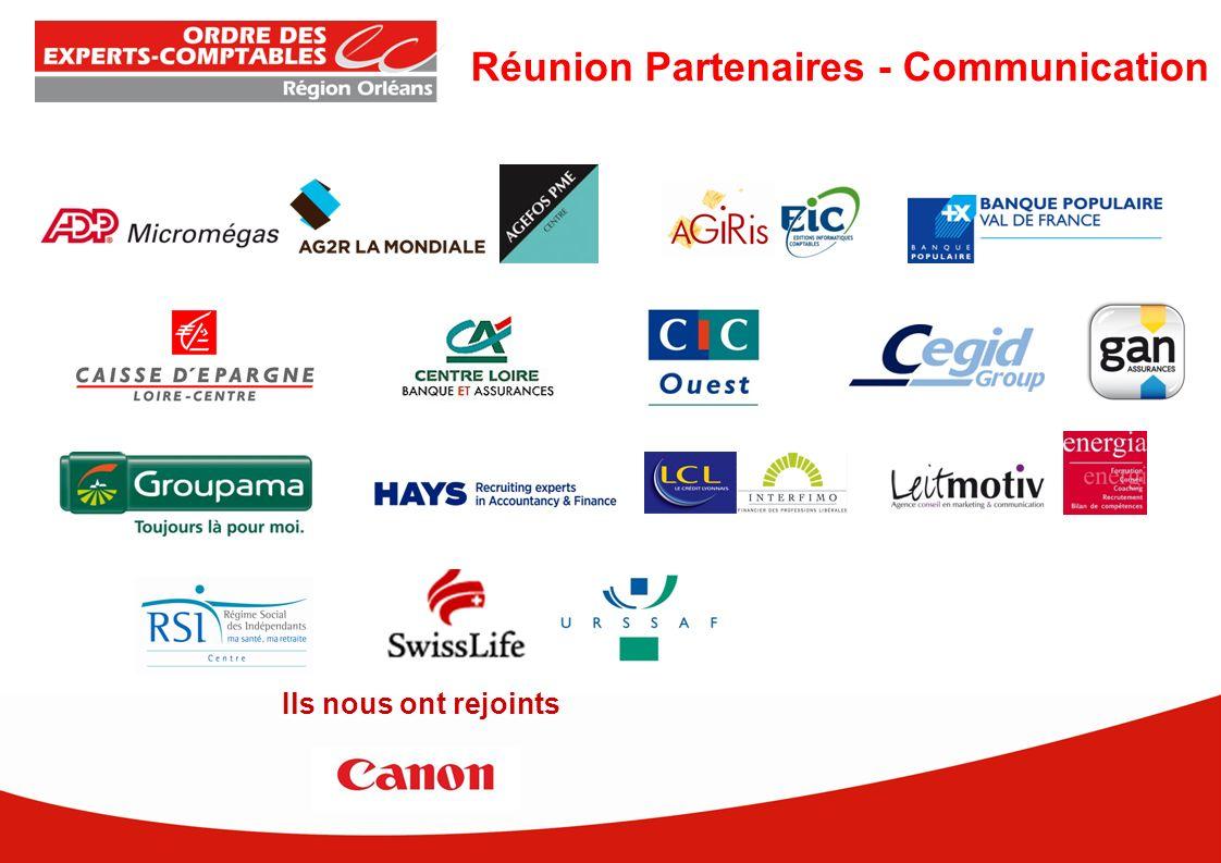 Réunion Partenaires - Communication Ils nous ont rejoints