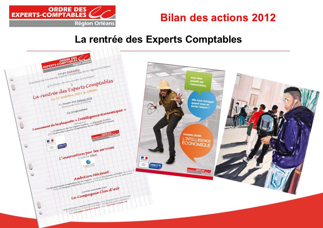 La rentrée des Experts Comptables Bilan des actions 2012