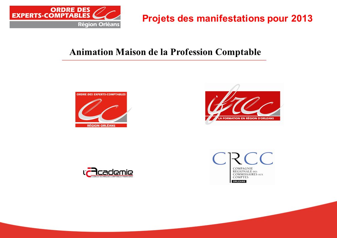 Animation Maison de la Profession Comptable