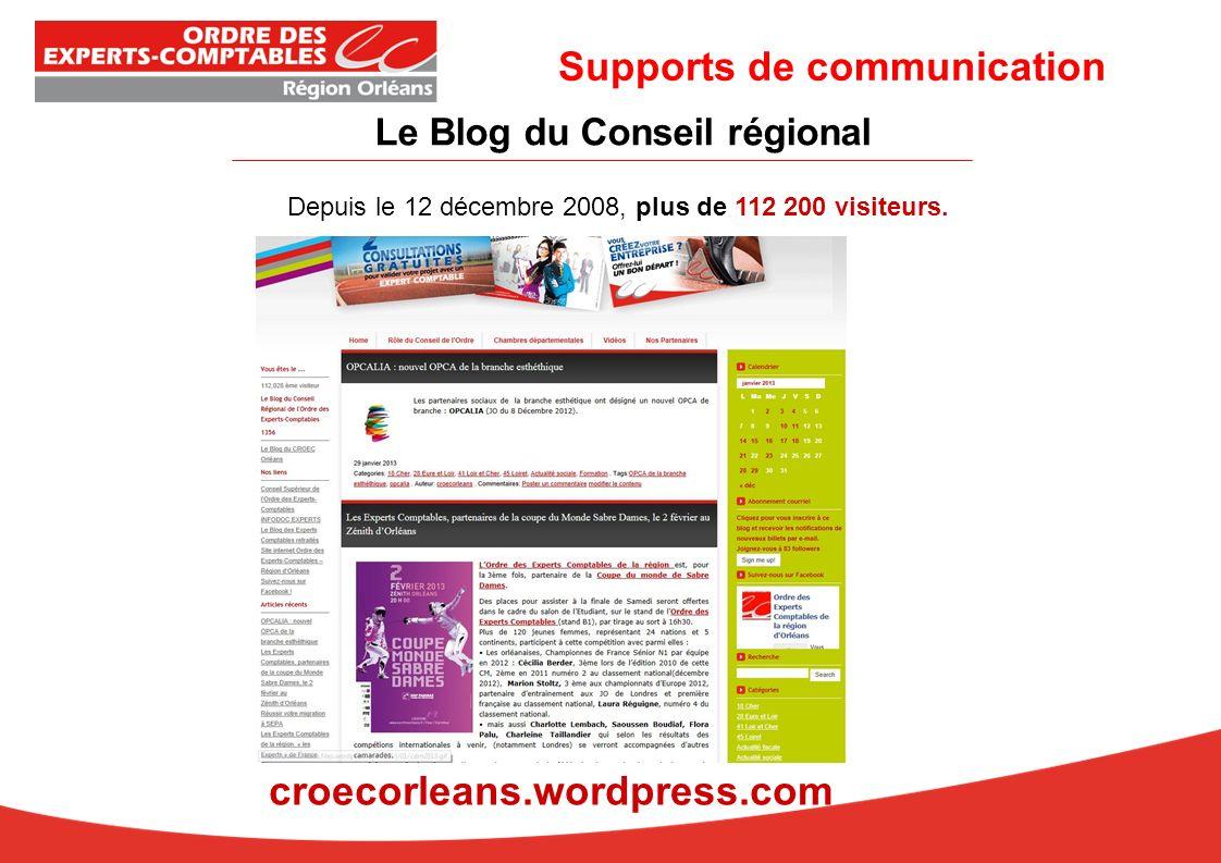 Le Blog du Conseil régional Depuis le 12 décembre 2008, plus de 112 200 visiteurs.