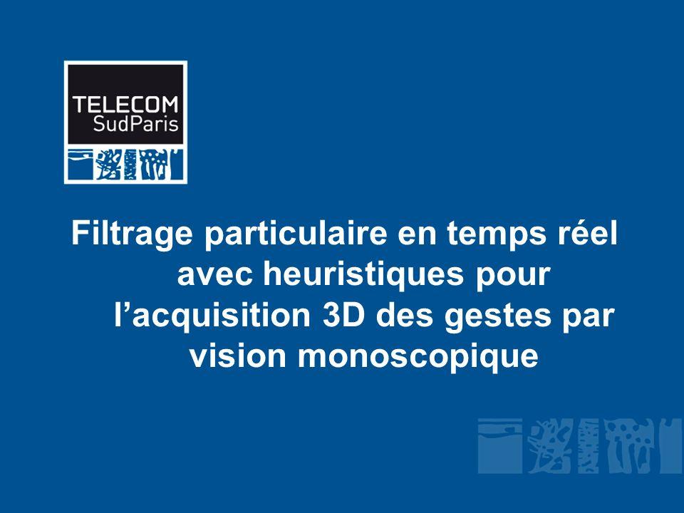 Filtrage particulaire en temps réel avec heuristiques pour lacquisition 3D des gestes par vision monoscopique