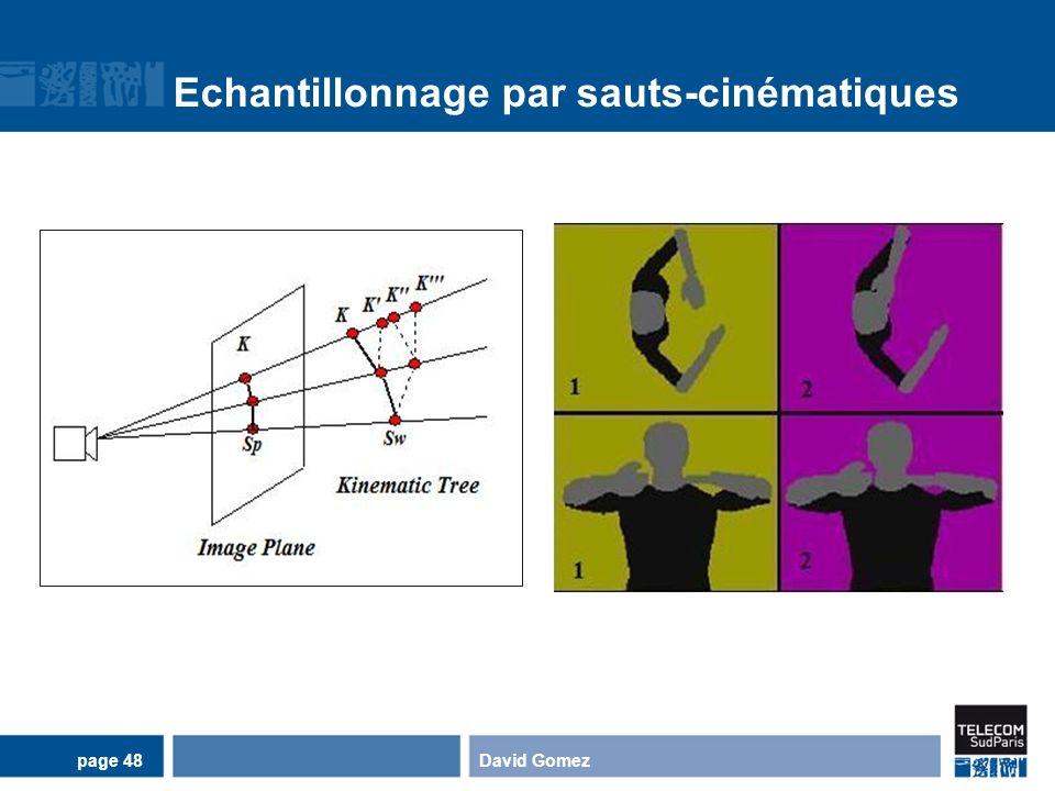 Echantillonnage par sauts-cinématiques David Gomezpage 48