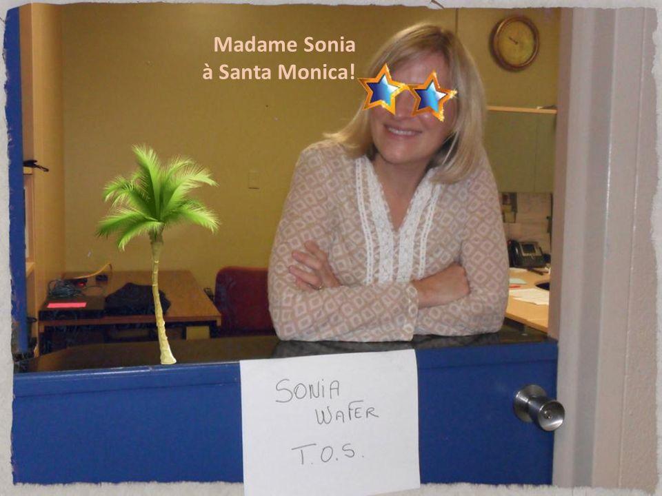 Madame Sonia à Santa Monica!