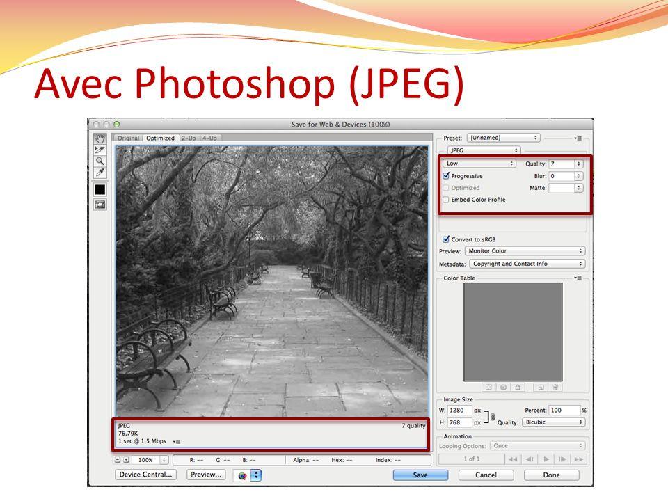 Avec Photoshop (JPEG)