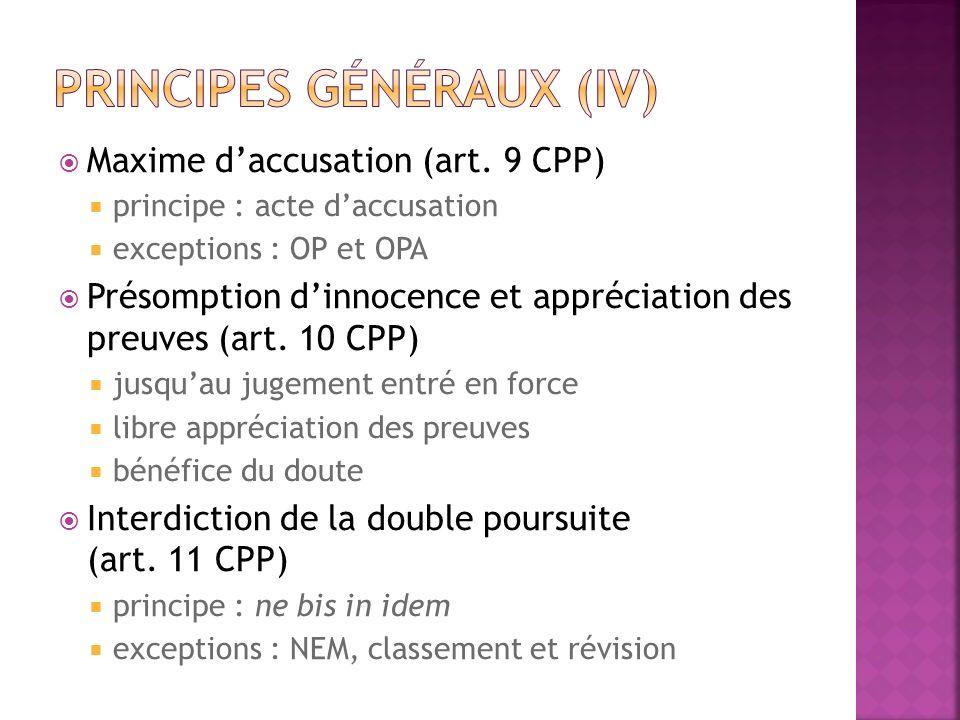 Prévenu Partie plaignante MP (débats, procédure de recours et exécution) Autorités étatiques (art.