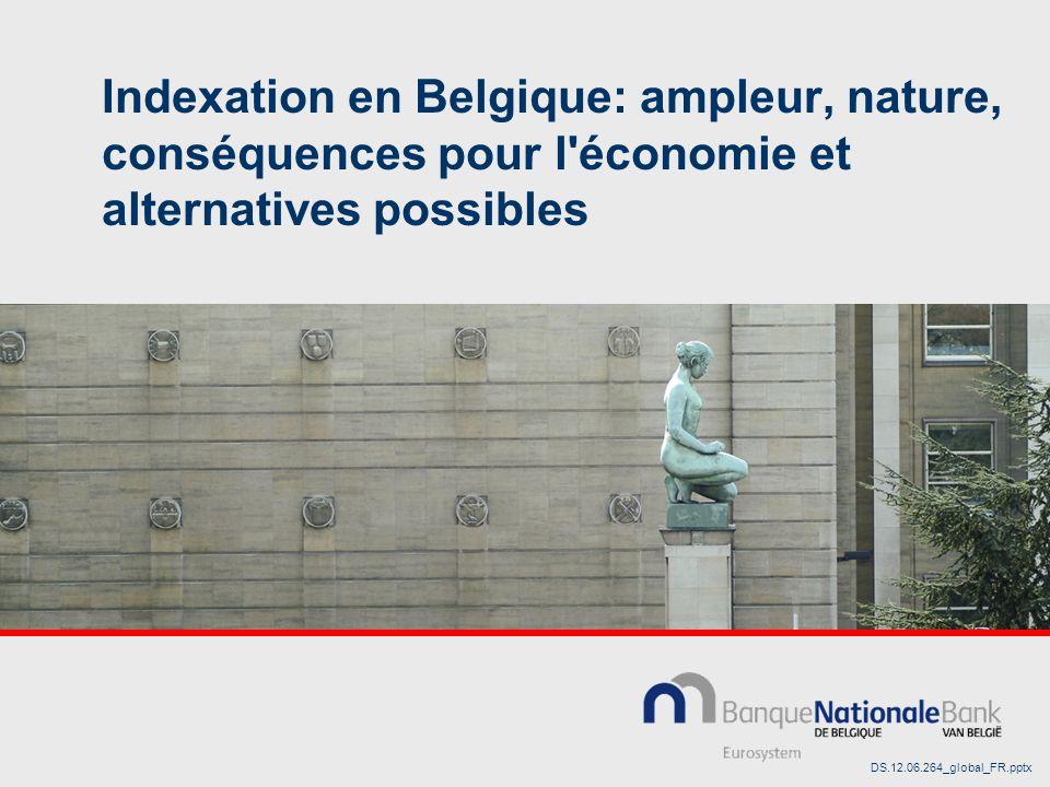 Indexation en Belgique: ampleur, nature, conséquences pour l économie et alternatives possibles DS.12.06.264_global_FR.pptx