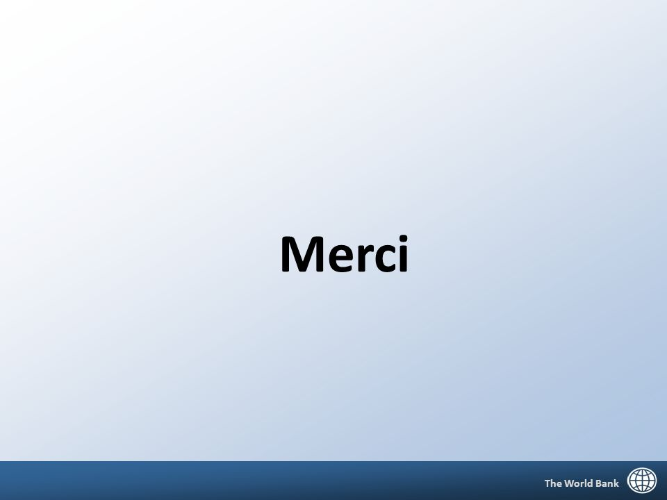 8 Merci The World Bank