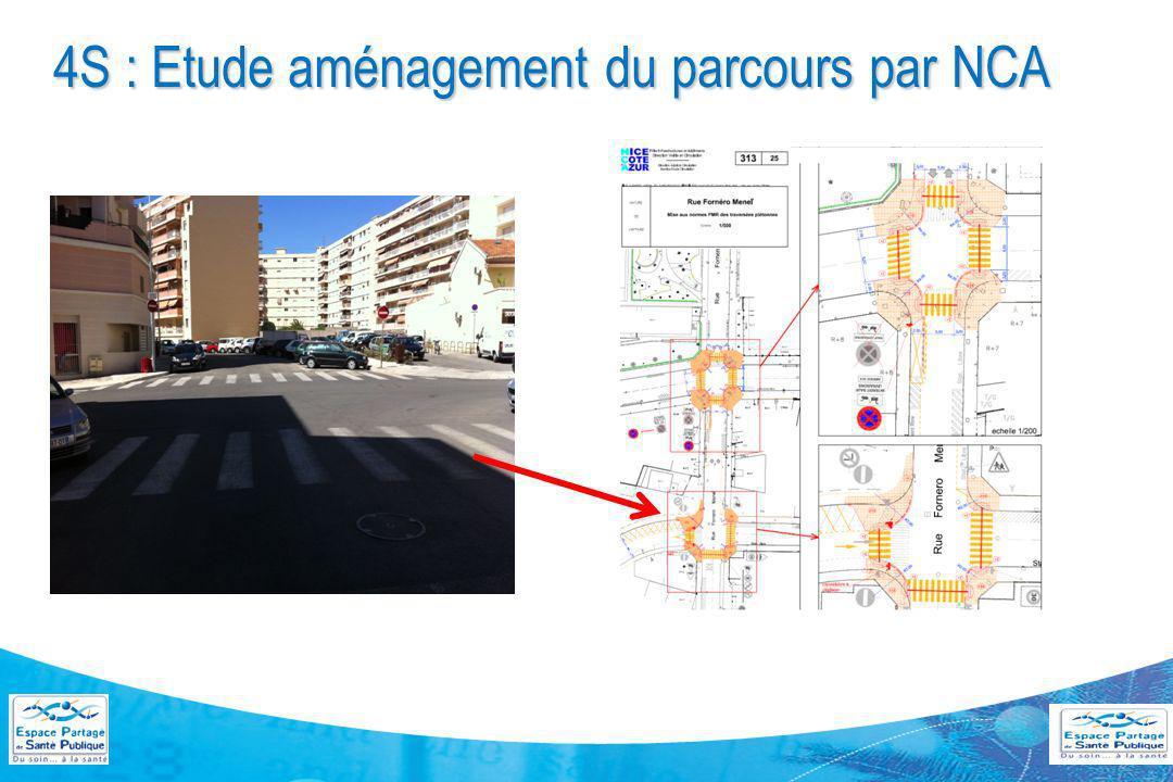 4S : Etude aménagement du parcours par NCA