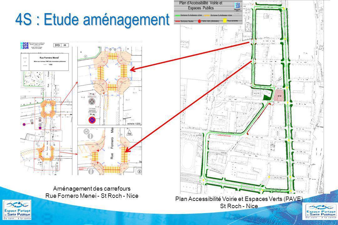 4S : Etude aménagement du parcours par NCA Mars 2011 Février 2012