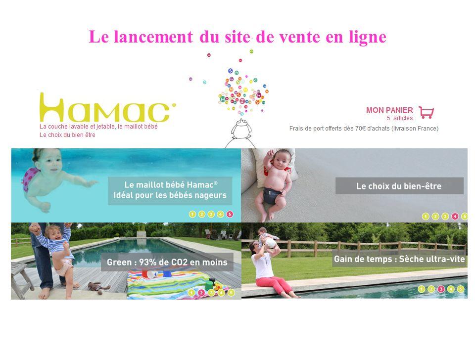 Le lancement du site de vente en ligne