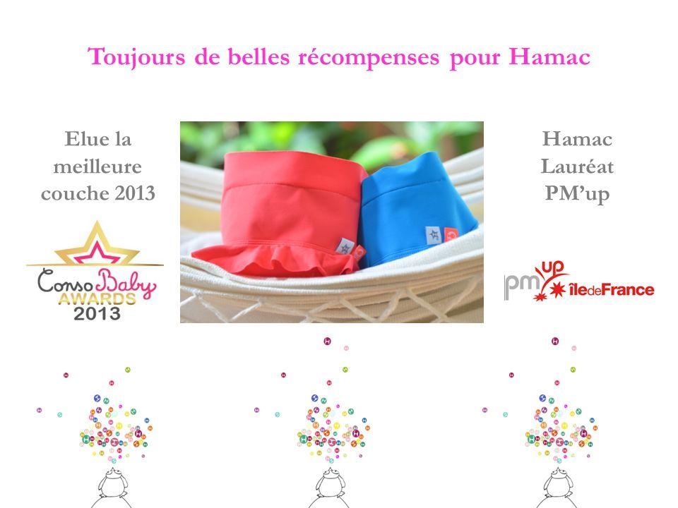 Toujours de belles récompenses pour Hamac Hamac Lauréat PMup Elue la meilleure couche 2013