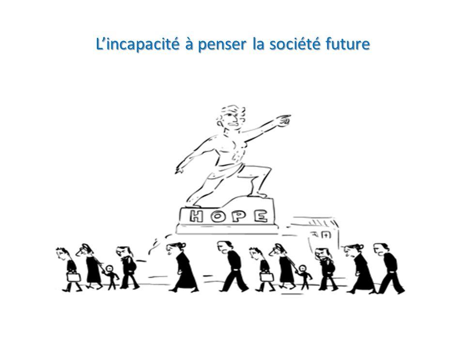 Lincapacité à penser la société future