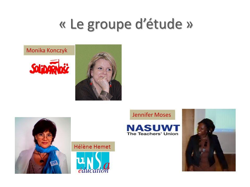 « Le groupe détude » Hélène Hemet