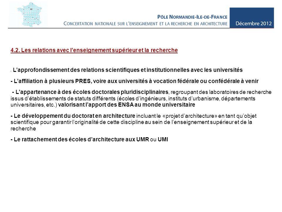 5.La révision des textes réglementaires 5.1.
