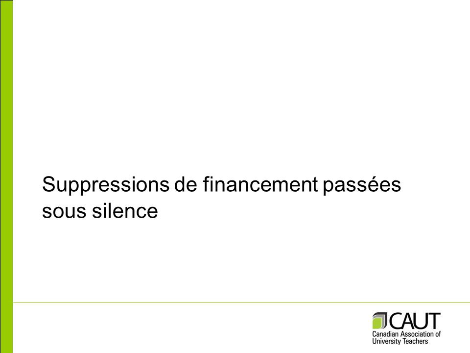 Subventions dengagement partenarial Source : CRSNG