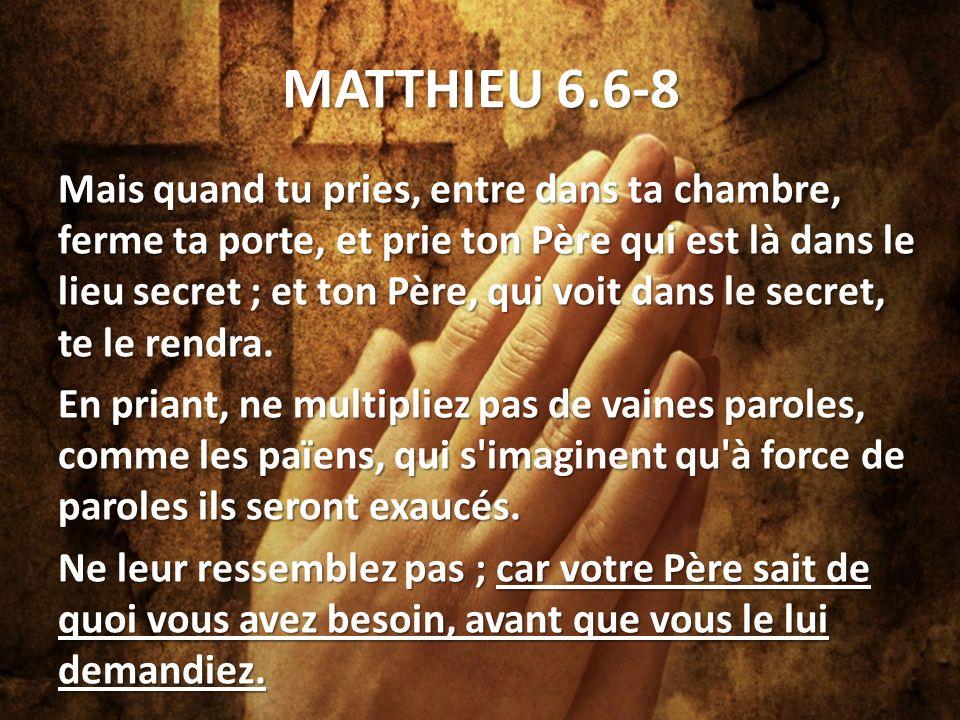 Marc 10:46-52 Plusieurs le reprenaient, pour le faire taire; mais il criait beaucoup plus fort: Fils de David, aie pitié de moi.