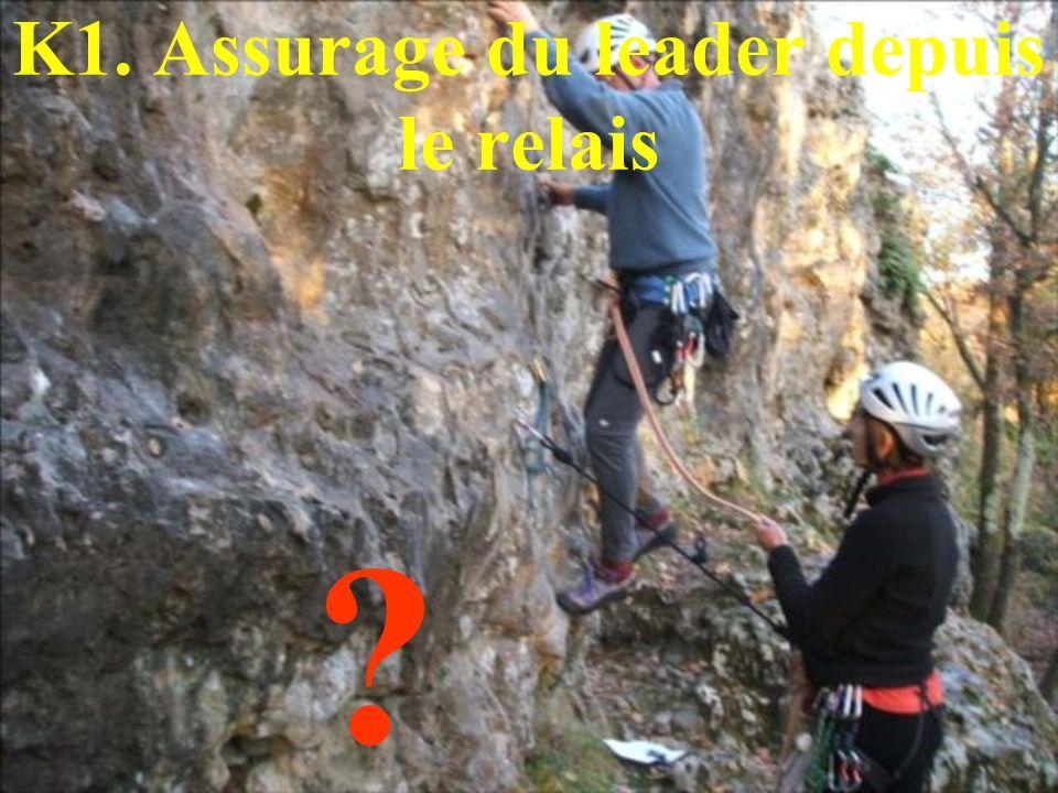 K1. Assurage du leader depuis le relais ?