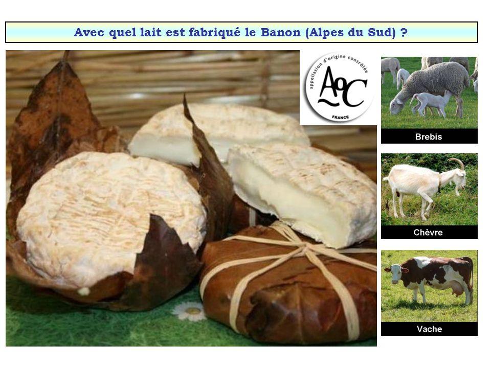 Avec quel lait est fabriqué lOssau-iraty (Pays Basque & Béarn) ?