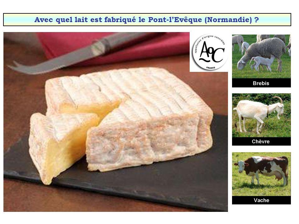 Avec quel lait est fabriqué le Picodon (Drôme & Ardèche) ?