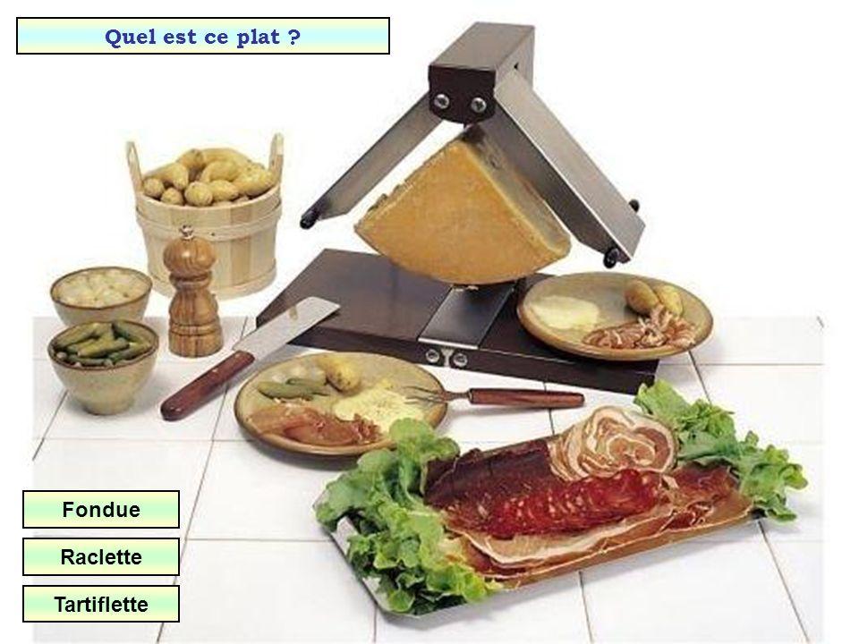Quelle est cette spécialité fromagère de lAubrac ? Aligot Fondue Tartiflette
