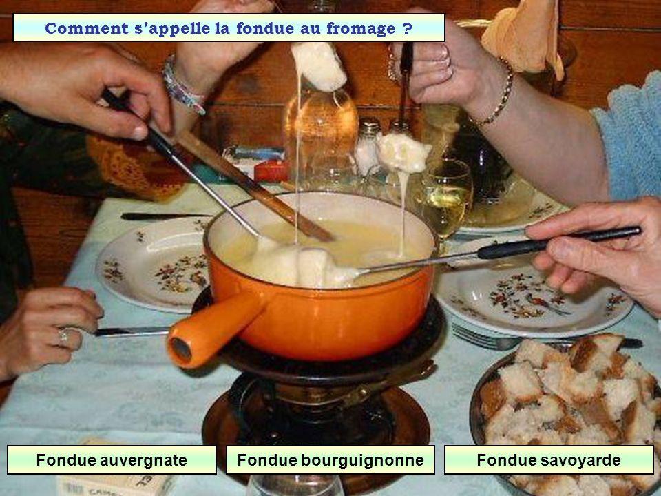 Quel est ce plat ? Fondue Raclette Tartiflette