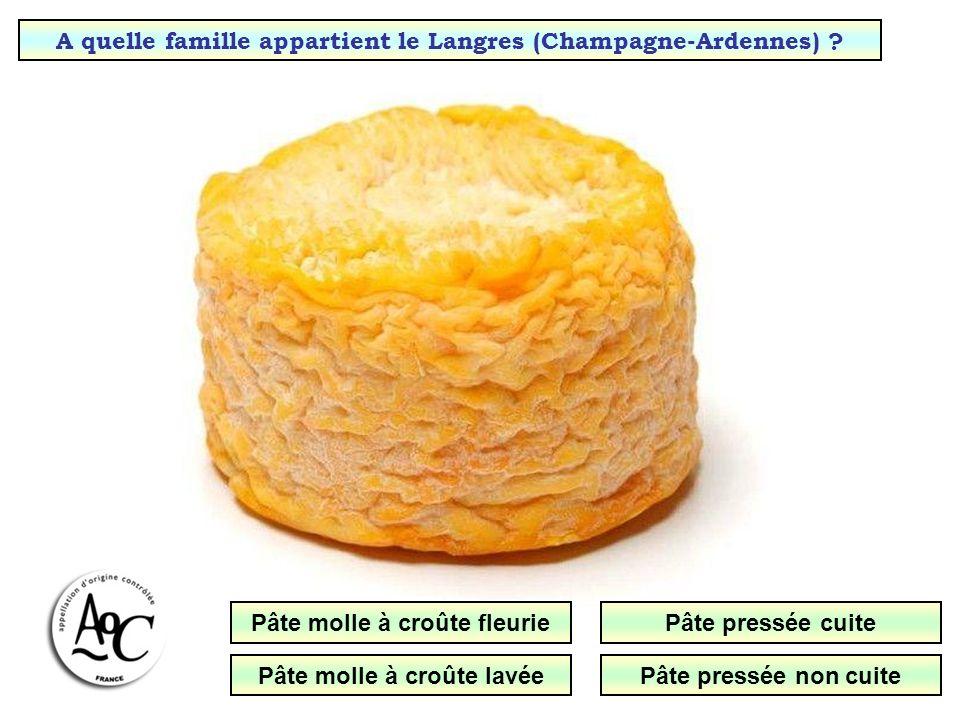 A quelle famille appartient le Brie de Meaux (Île de France) .