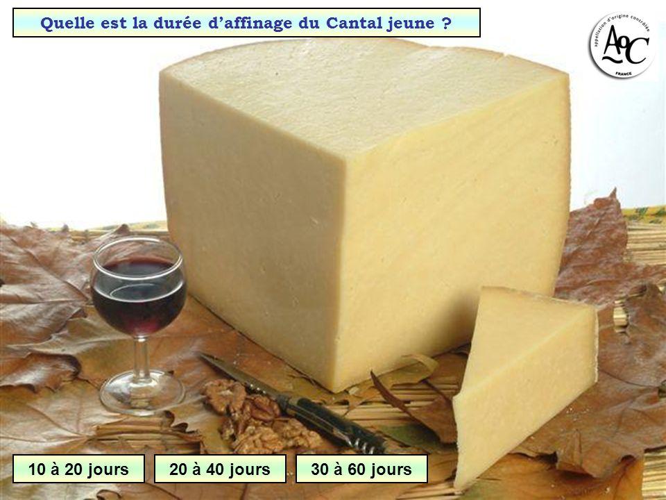 Quelle est la dernière étape de la fabrication dun fromage ? Affinage Caillage Egouttage