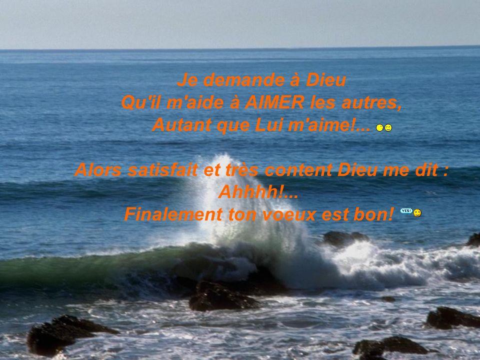 Si tu aimes Dieu, Envoie ceci à dix personnes Y compris la personne qui te l a envoyé… CE JOUR EST LE TIEN, PRENDS EN SOIN...